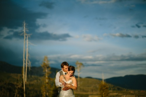 Rainbows, Tuxedo dogs and Ominous Skies | Lauren + Sky's Summer Solstice Wedding