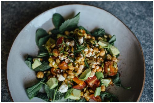 Happy 4th of July: Quick + Healthy Chipotle, Dill + Chickpea Summer Salad